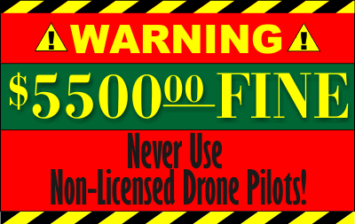 FAA Fines Non-Licensed Pilots